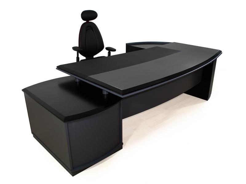 Schreibtisch Bergamo Black Edition